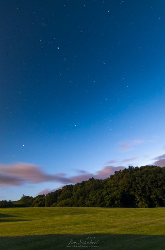 Night Sky Photography With Wide Angle Lens