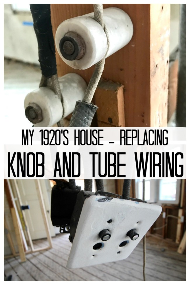my house had knob and tube wiring here is how i updated it