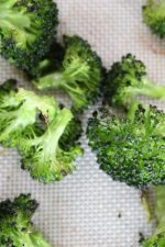 lightly charred broccoli floret